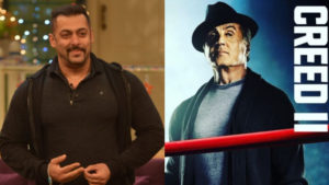 Salman Khan Wishes Good Luck Sylvester Stallone Creed II