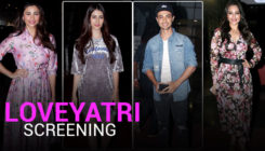 In Pics: Sonakshi Sinha, Daisy Shah and other B-town stars attend special screening of Aayush-Warina's 'LoveYatri'
