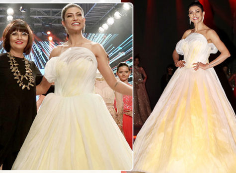 BTFW 2018: Sushmita Sen turns stunning showstopper for Neeta Lulla