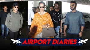 In pics: Shah Rukh Khan, Kangana Ranaut, Arjun and others nail the airport look