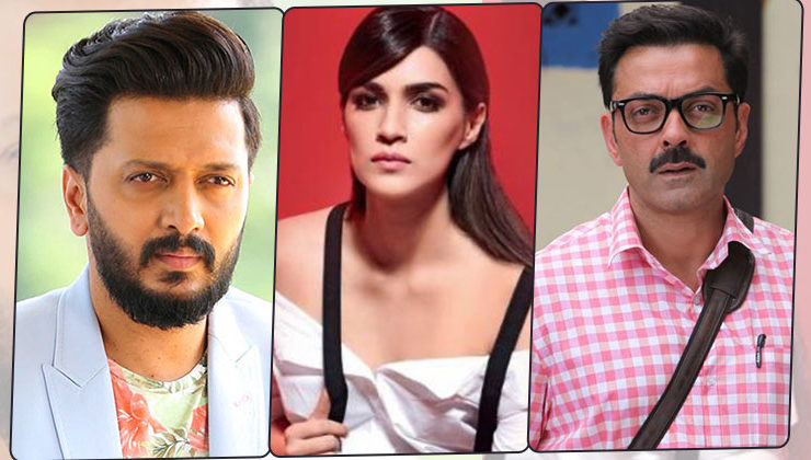 'Housefull 4' actors Riteish Deshmukh, Bobby Deol and Kriti Sanon come out in support of #MeToo movement