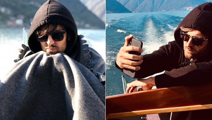 Hrithik Roshan tries to pose for the perfect selfie in Italy and fails