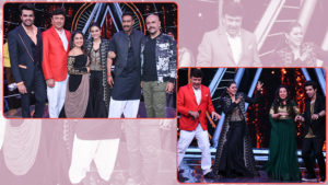 kajol ajay devgn promote helicopter eela indian idol 10
