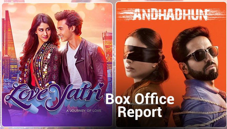 Box Office Report: 'AndhaDhun' and 'LoveYatri' have a slow start on day 1