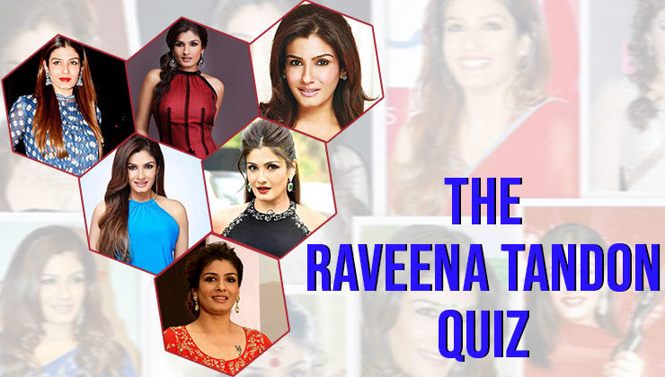 Quiz on Raveena Tandon: How well do you know the 'mast mast' girl of Bollywood?