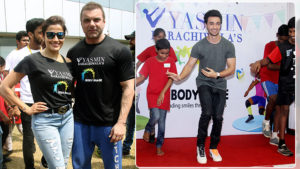 In Pics: Sohail Khan and Aayush Sharma attend a fitness event for the lesser privileged