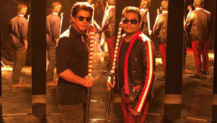 Shah Rukh Khan and AR Rahman collaborate for Hockey World Cup song