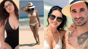 In pics: Sunny Leone hits the beach with husband Daniel on their Mexico vacation