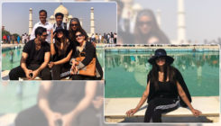 These pictures of Sushmita Sen visiting the Taj Mahal are  breaking the internet