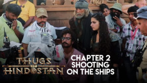 Making of 'Thugs Of Hindostan': Shooting on the ships was no cakewalk for the makers