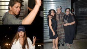 Shah Rukh, Gauri Khan, Dia Mirza and others attend Zoya Akhtar's birthday bash
