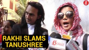 WATCH: Rakhi Sawant files 25 paise defamation case against Tanushree Dutta