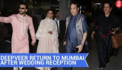 Post their Bengaluru reception, Ranveer-Deepika are back in Mumbai