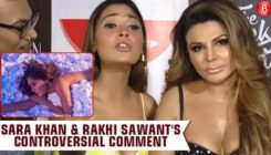 Sara Khan and Rakhi Sawant make a shocking statement on wearing burkha
