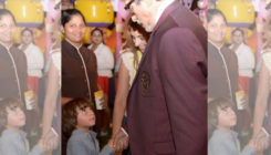 Cuteness alert: AbRam Khan is convinced that Amitabh Bachchan is his father's father