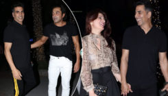 In Pics: Akshay Kumar and Twinkle on a dinner date with Bobby and Tanya Deol