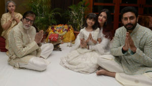 Amitabh Bachchan Diwali Celebrations with family