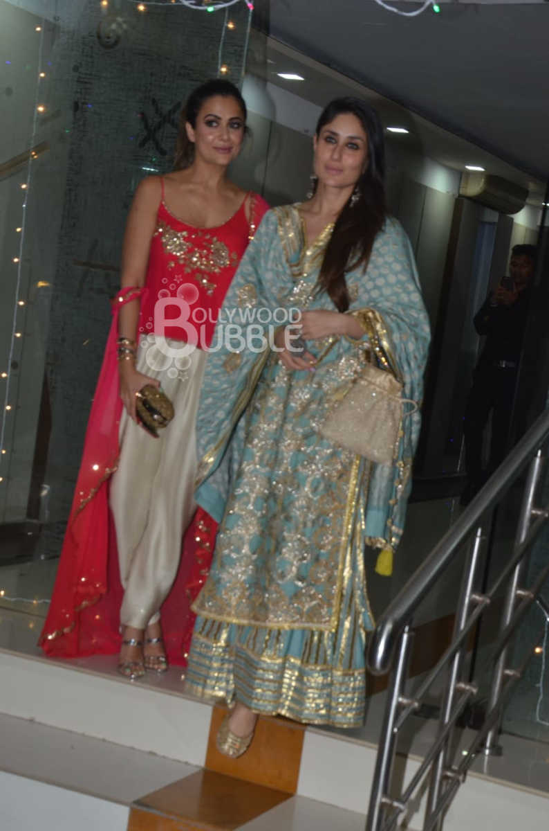Kareena Kapoor Khan and Amrita Arora