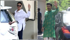 Deepika and Ranveer visit Sanjay Leela Bhansali's house to invite him for their wedding