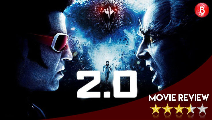 '2.0' Movie Review: A bonafide superhero movie which keeps you hooked at every turn