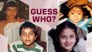 Happy Children's Day: Top seven childhood pictures of Bollywood couples