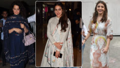 In Pics: Kangana Ranaut, Sara Ali Khan, Anushka and others spotted in the city