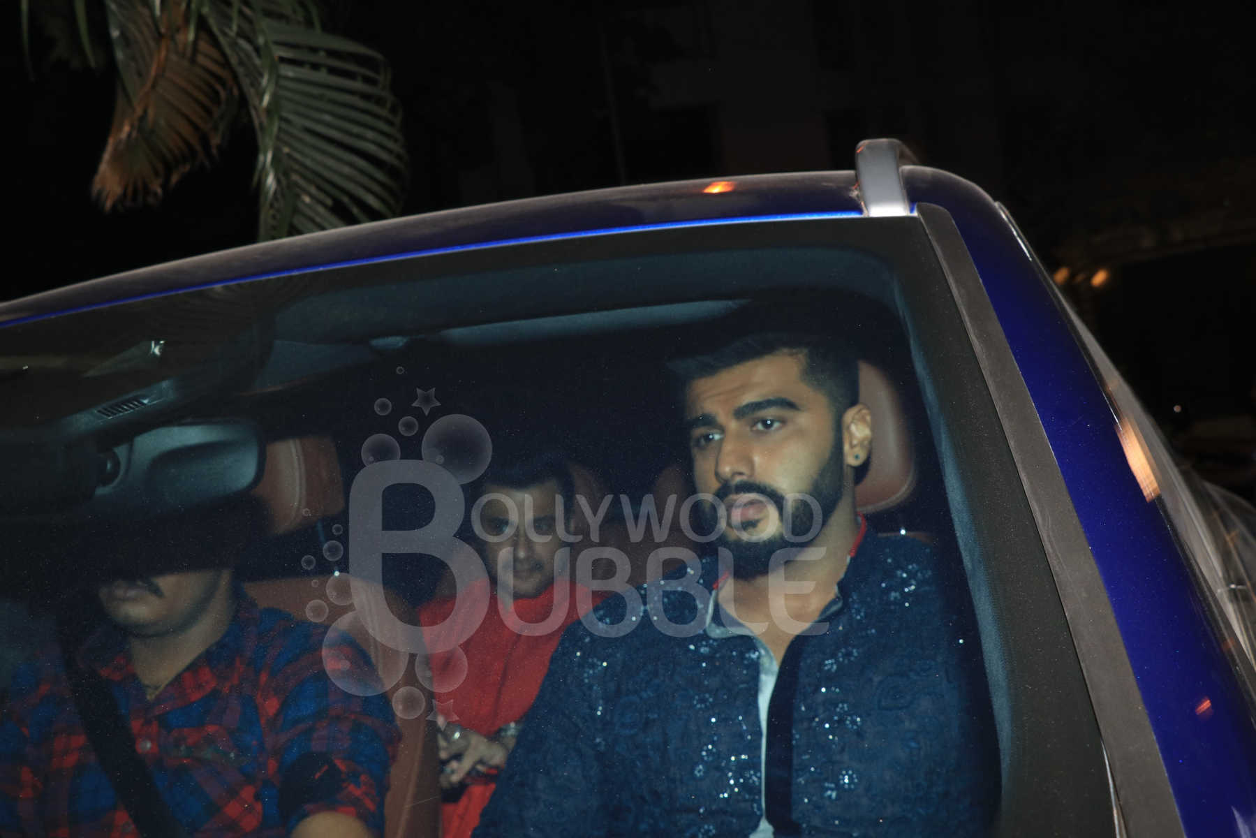 Arjun Kapoor and Sanjay Kapoor