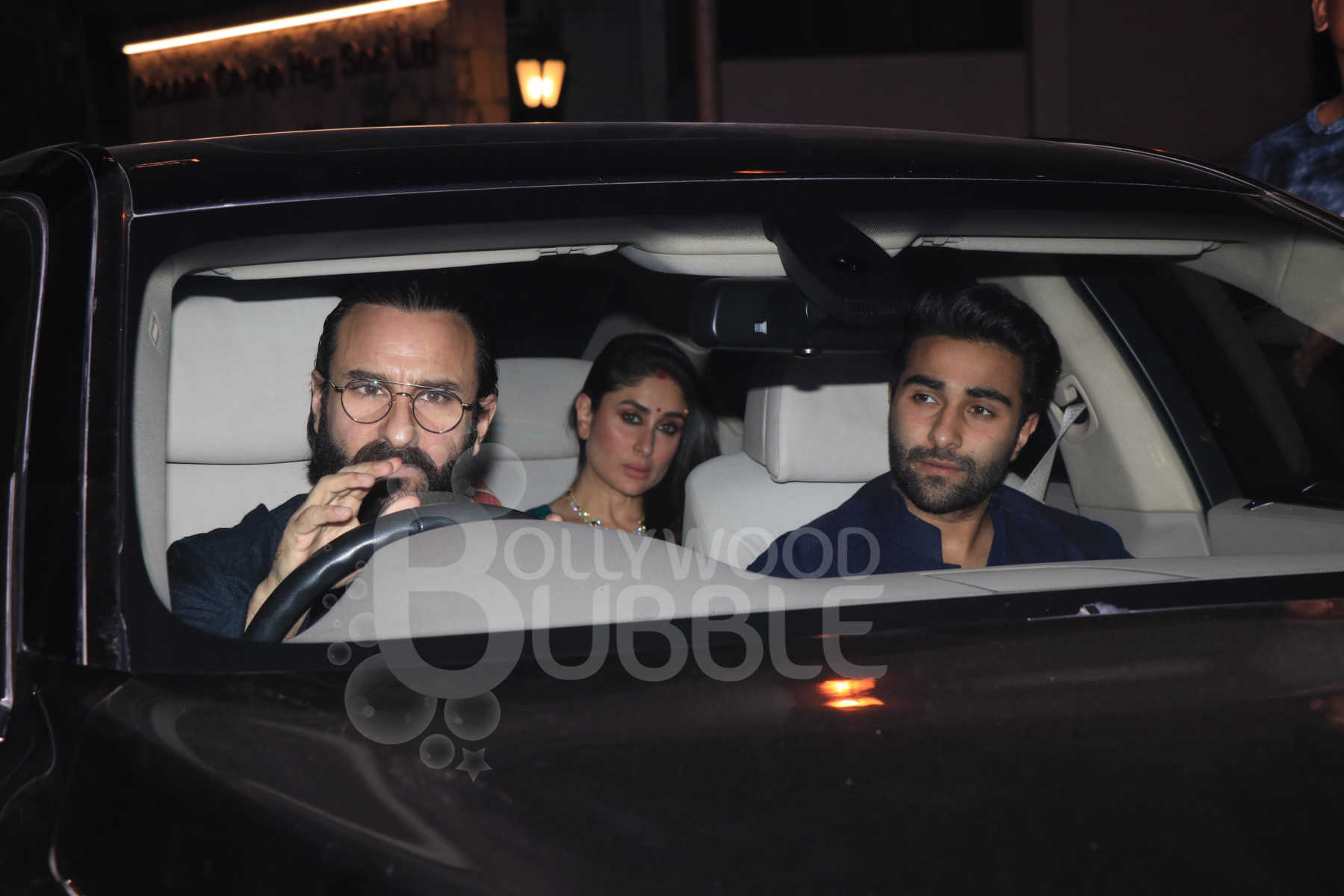 Saif Ali Khan, Kareena Kapoor Khan and Aadar Jain
