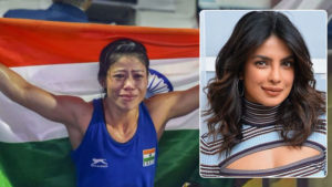 priyanka chopra congratulate mary kom 6th gold Boxing World Championships