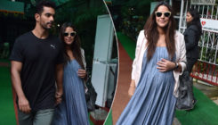 In Pics: Neha Dhupia and Angad Bedi spotted at a hospital in Bandra