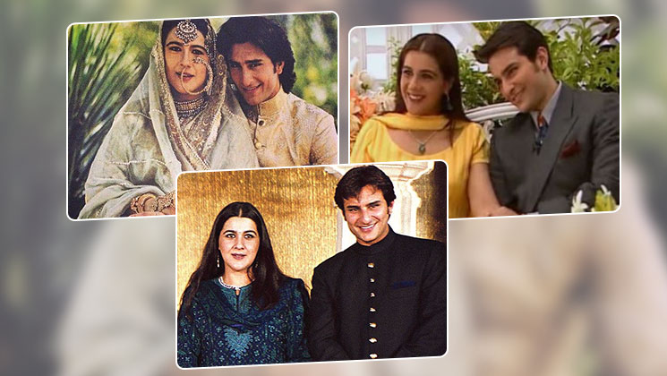 Reliving the fairy tale love story of Saif Ali Khan and Amrita Singh