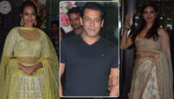 In Pics: Salman, Jacqueline, Sonakshi and others at Arpita-Aayush Diwali party