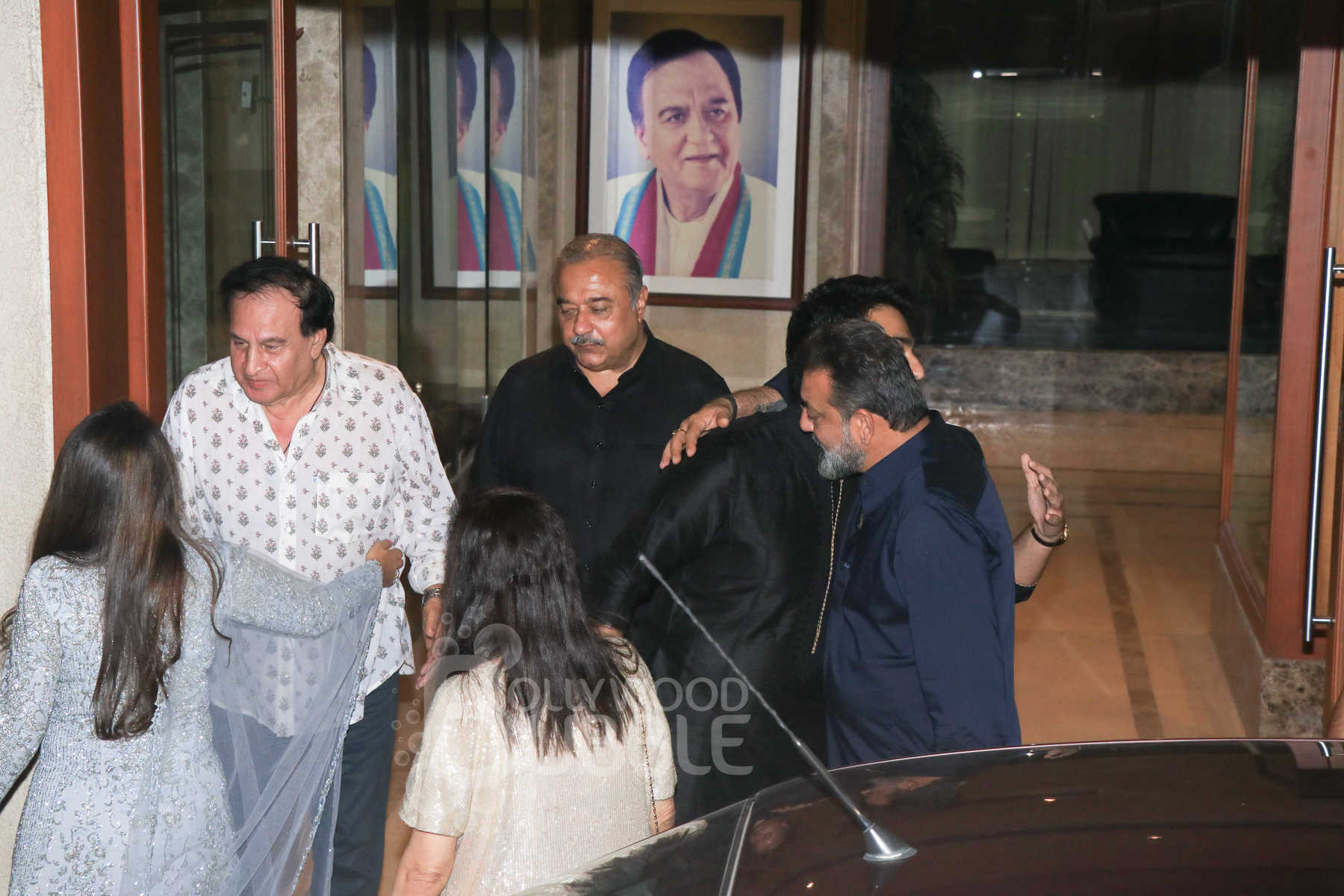 Sanjay Dutt and friends
