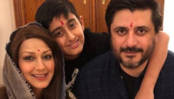 Sonali Bendre celebrates 'unconventional' Diwali with family in New York