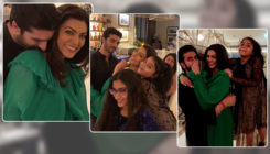In Pics and Video: Sushmita Sen's birthday celebrations with Rohman and her family is all about love and fun