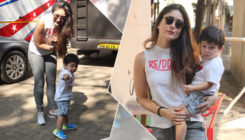 In Pics: Taimur Ali Khan rocks his new haircut, while having a fun time with mom Kareena