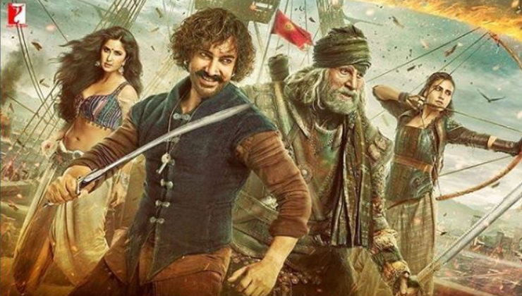 Box Office: 'Thugs Of Hindostan' makes a bumper opening despite negative reviews