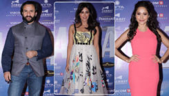 In Pics: Saif Ali Khan, Chitrangda and Nushrat in attendance at the 'Baazaar' success bash