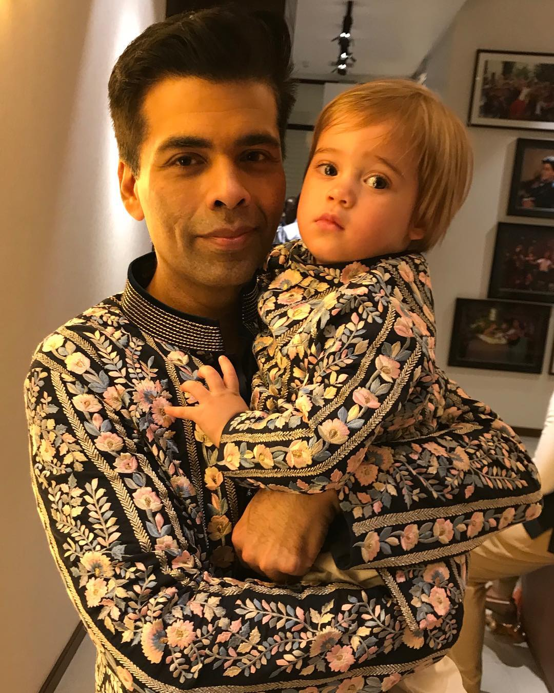 Karan Johar and Yash Johar