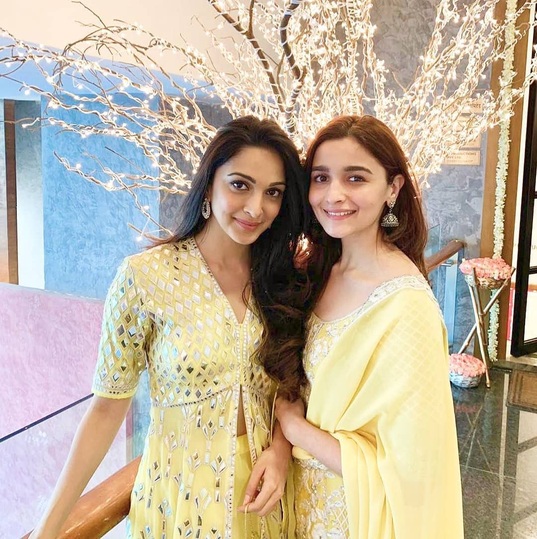 Alia Bhatt and Kiara Advani