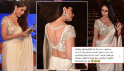 Kareena Kapoor Khan brutally trolled for wearing a revealing saree for a prestigious award function