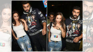 Malaika Arora at Arjun Kapoor's house