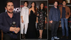 In Pics: Christian Bale, Kareena, Madhuri, and others at the Hindi trailer launch of 'Mowgli'