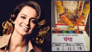 kangana ranaut kabaddi film panga goes on floor