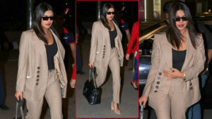 In Pics: Priyanka Chopra slays at the airport with her formal look