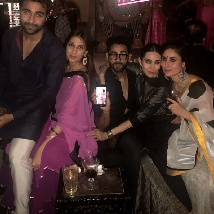 Kareena Kapoor with family and friends