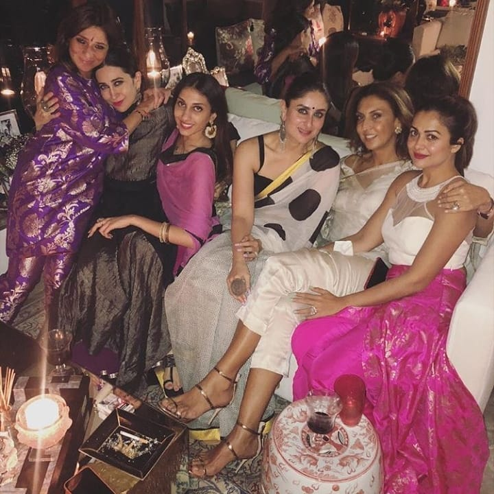 Kareena Kapoor with friends