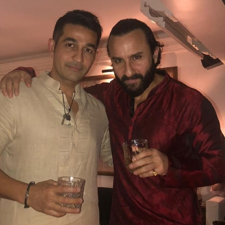 Saif Ali Khan and Shakeel Ladak