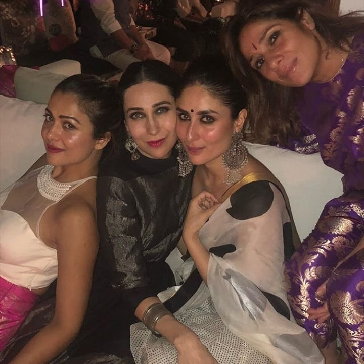 Kareena Kapoor, Karisma and Amrita Arora