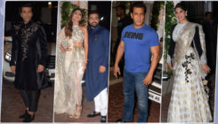 Pics: Salman Khan, Jacqueline, Karan Johar and others attend Shilpa Shetty Kundra's Diwali bash